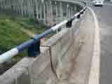 铸铁支座复合管桥梁护栏
