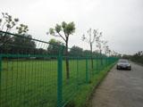 框架浸塑围墙护栏
