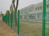 双边丝桃形柱浸塑护栏