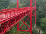 景区钢结构桥梁栏杆