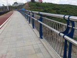 不锈钢桥梁人行道栏杆